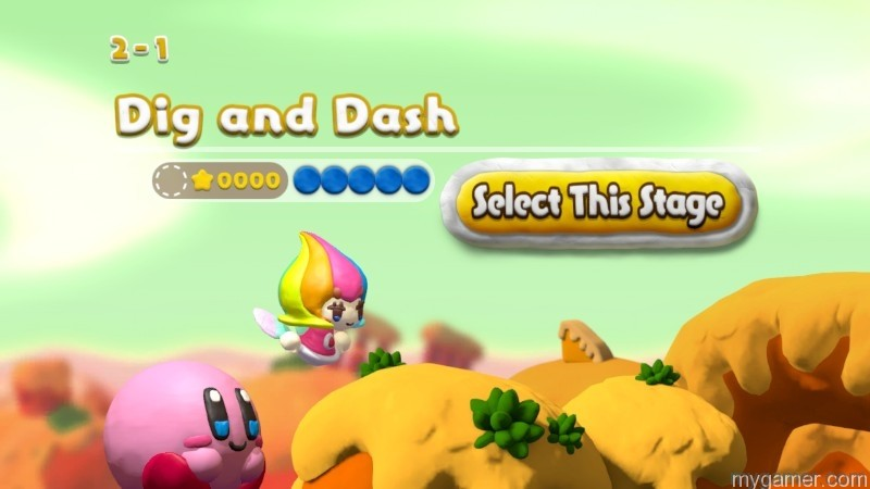The paintbrush fairy will guide Kirby
