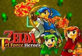 Legend of Zelda: Tri Force Heroes 3DS Review Legend of Zelda: Tri Force Heroes 3DS Review LoZ Tri Force Heroes Banner 263x180