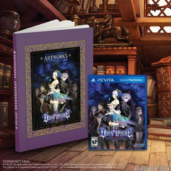 Odin Sphere Art Book Odin Sphere Leifthrasir Arriving in Early June With Special Extras Odin Sphere Leifthrasir Arriving in Early June With Special Extras Odin Sphere Art Book
