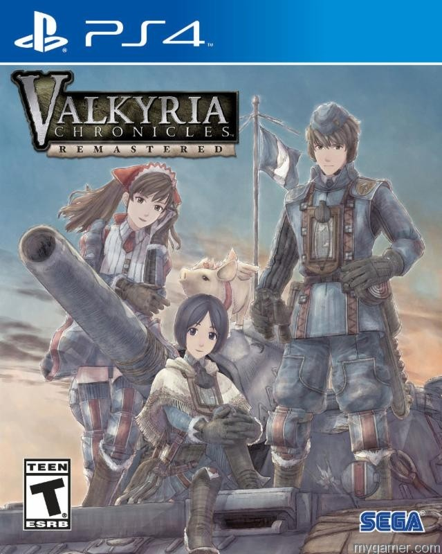 Valkyria Chronicles Remastered Will Deploy in the West on PlayStation 4 Valkyria Chronicles Remastered Will Deploy in the West on PlayStation 4 Valkyria Chron PS4 box