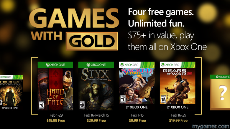 xbox live games with gold february 2016 announced Xbox Live Games With Gold February 2016 Announced Xbox Live Games Gold Feb 2016