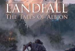 New Fantasy Novel 'Landfall' Delves Into the Lore of Albion Online New Fantasy Novel 'Landfall' Delves Into the Lore of Albion Online Albion Novel Front Cover Image 263x180