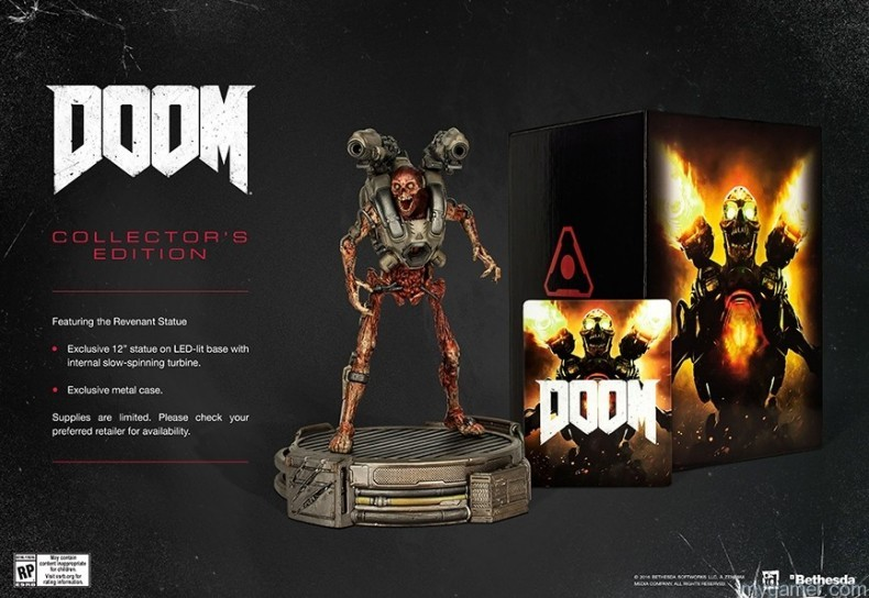 Doom is Coming Mid-May with Collector's Edition Doom is Coming Mid-May with Collector's Edition DOOM CE 790x544