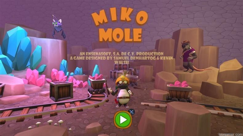 Miko Mole myGamer Visual Cast Awesome Blast! Miko Mole (PS4) Miko Mole banner 790x444