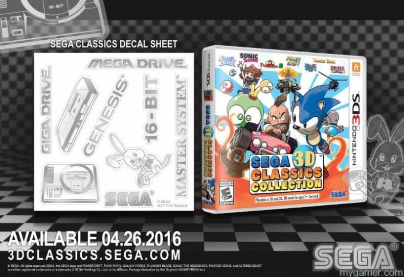 Pre-Order SEGA Classics 3DS, Get a Free Decal Sheet Pre-Order SEGA Classics 3DS, Get a Free Decal Sheet Sega Classics Decal 3DS 790x543