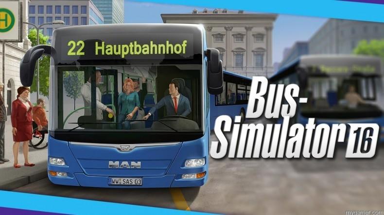 bus simulator 2016 stream myGamer Visual Cast Awesome Blast! Bus Simulator 2016 Bus Simulator 2016 790x444