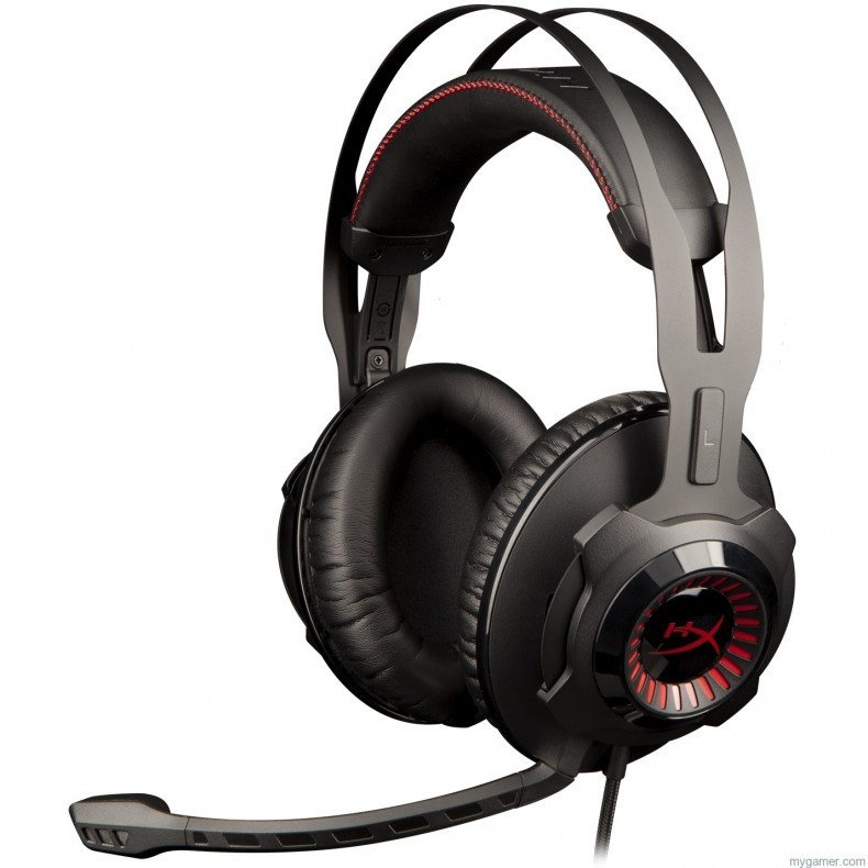 HyperX Announces New Cloud Revolver Headset HyperX Announces New Cloud Revolver Headset HyperX Cloud Revolver Left 790x790