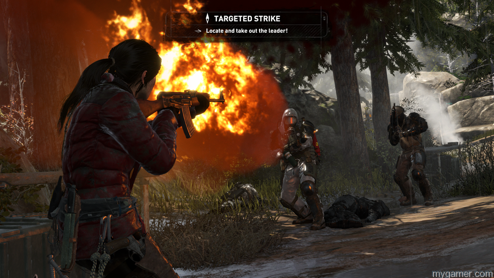 Rise-of-the-Tomb-Raider-screenshot-gun-combat Rise of the Tomb Raider Review Rise of the Tomb Raider Review Rise of the Tomb Raider screenshot gun combat