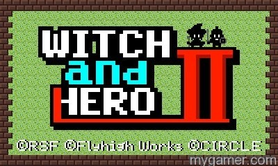 Witch and Hero 2 Landing on 3DS eShop March 24, 2016 Witch and Hero 2 Landing on 3DS eShop March 24, 2016 Witch and Hero II banner