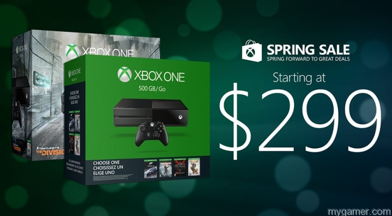 Xbox One 2016 springsalehero Xbox Spring Sale Starts March 20, 2016 - Console and Games Price Drops Xbox Spring Sale Starts March 20, 2016 - Console and Games Price Drops Xbox One 2016 springsalehero
