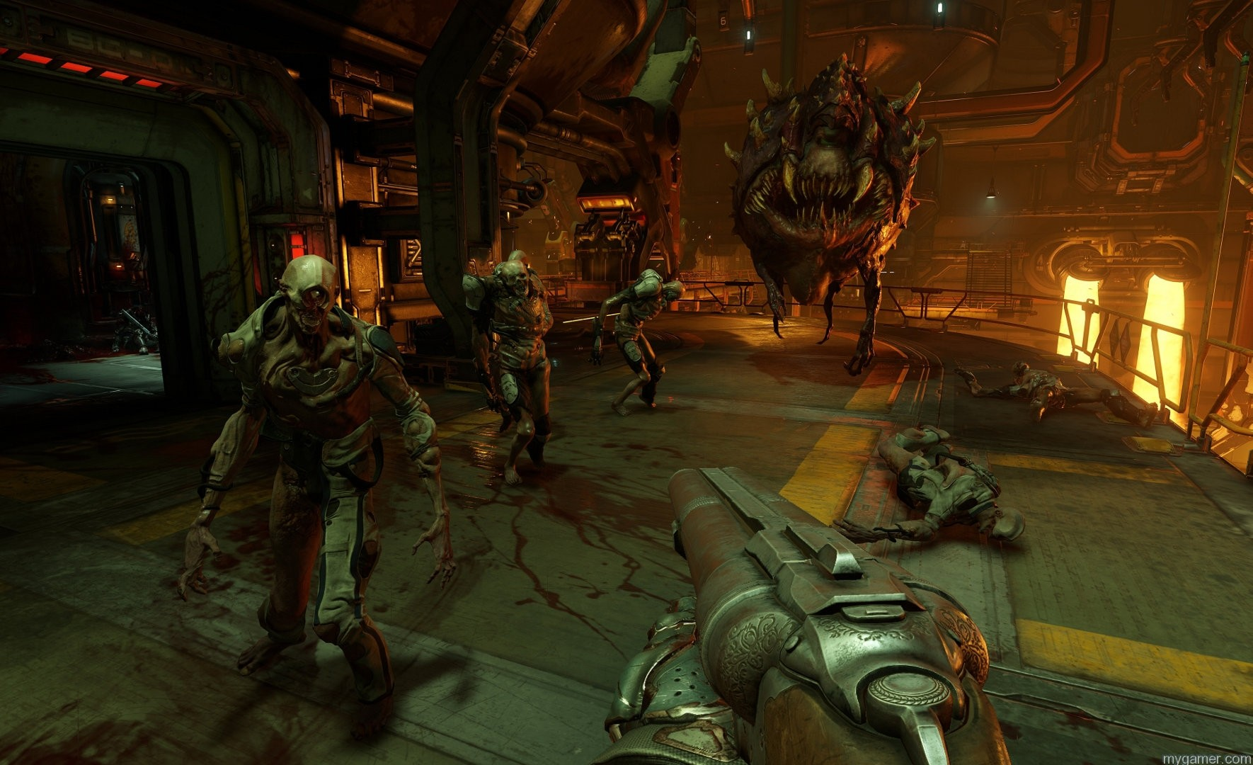 doom-screenshot-02-ps4-us-11jun15 Check Out the new Doom Multiplayer Trailer Check Out the new Doom Multiplayer Trailer doom screenshot 02 ps4 us 11jun15