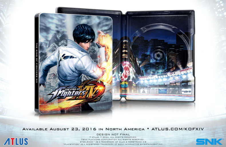 KoF XIV Launches in Aug With Special Day 1 Edition and Free DLC KoF XIV Launches in Aug With Special Day 1 Edition and Free DLC KOFGlam NoText 790x513