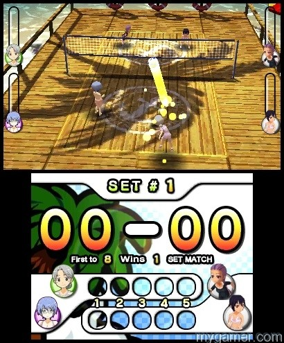 SSBV(2) Natsume's Super Strike Beach Volleyball Now Available on 3DS eShop Natsume's Super Strike Beach Volleyball Now Available on 3DS eShop SSBV2