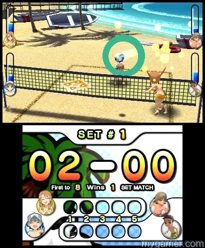SSBV(3) Natsume's Super Strike Beach Volleyball Now Available on 3DS eShop Natsume's Super Strike Beach Volleyball Now Available on 3DS eShop SSBV3