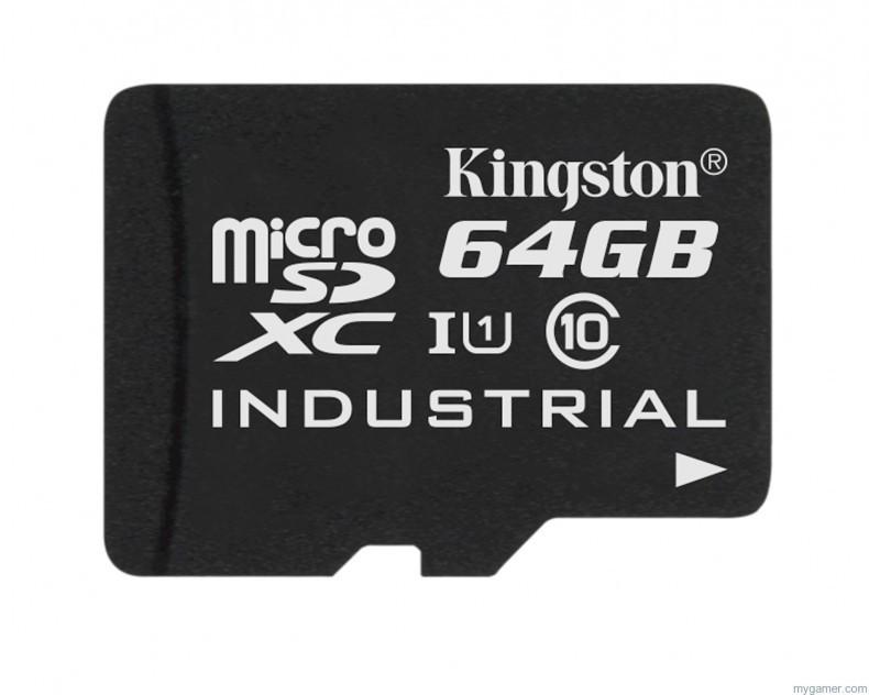 Kingston Has Just Released Weatherproof microSD Cards Kingston Has Just Released Weatherproof microSD Cards microSD Industrial Temp Card UHS I 64GB 790x632