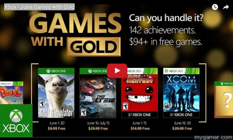 Free Games With Gold July 2019