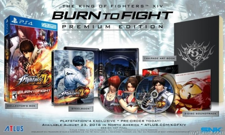 Check Out The King of Fighters XIV Burn To Fight Premium Edition Check Out The King of Fighters XIV Burn To Fight Premium Edition King of Fighters XIV BurnToFight 790x474