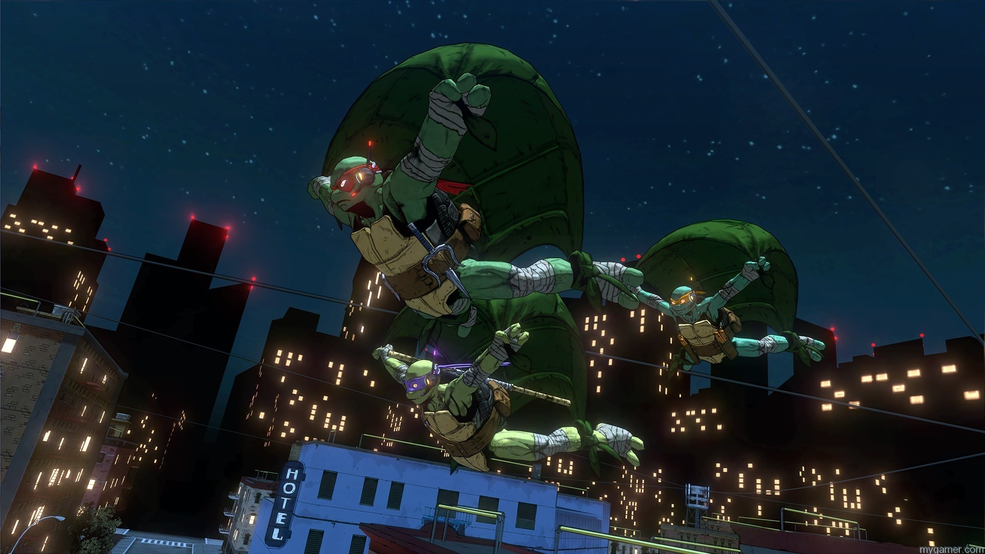 TMNT - MiM Screens 05 TMNT: Mutants In Manhattan Now Available - Discounted on Last Gens TMNT: Mutants In Manhattan Now Available - Discounted on Last Gens TMNT MiM Screens 05
