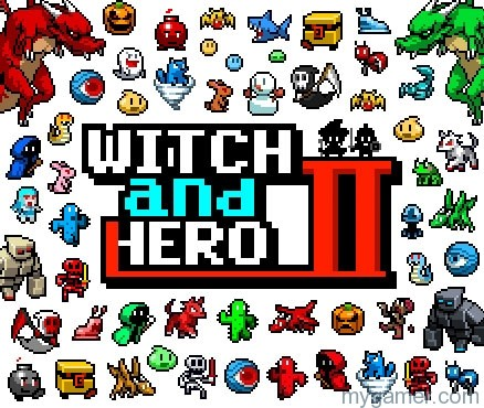 Witch And Hero 2 3DS eShop Review II Witch And Hero 2 3DS eShop Review Witch and Hero II banner