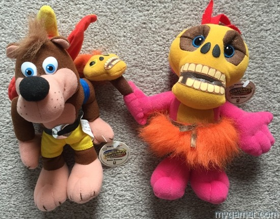 These each sell for over $100 today Retro Collectables – These BD&A Nintendo Plush Toys from 1997 Are Quite Valuable Retro Collectables – These BD&A Nintendo Plush Toys from 1997 Are Quite Valuable BDA Nintendo Plush Banjo Mumbo