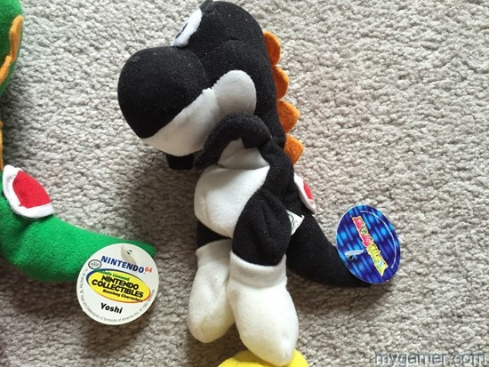 This guy is worth the big bucks Retro Collectables – These BD&A Nintendo Plush Toys from 1997 Are Quite Valuable Retro Collectables – These BD&A Nintendo Plush Toys from 1997 Are Quite Valuable BDA Nintendo Plush Black Yoshi