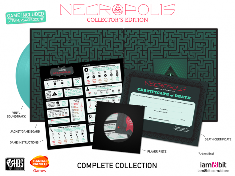 Here Are the NECROPOLIS Collector's Edition Details Here Are the NECROPOLIS Collector's Edition Details NECROPOLIS CE BeautyShot 1024x1024 790x593
