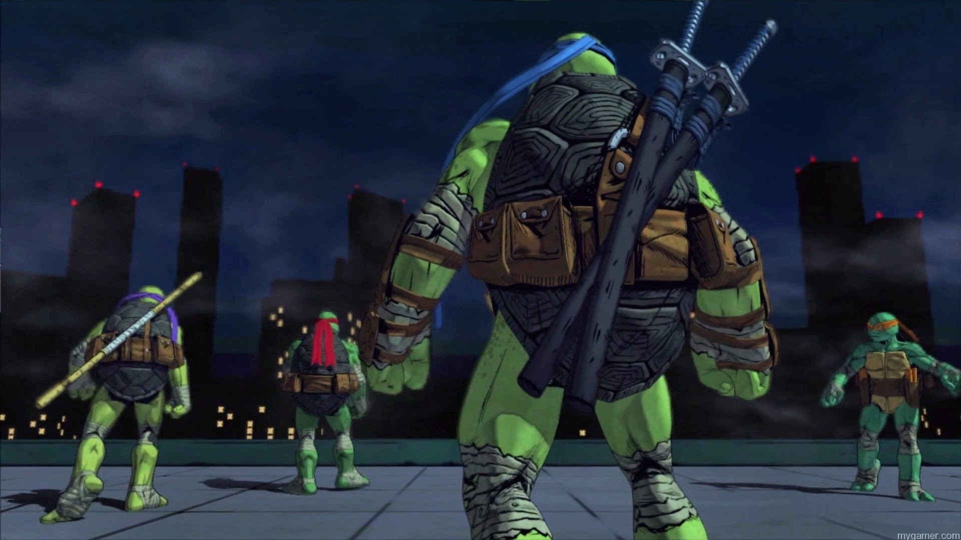 TMNT Mutans in Man backs TMNT: Mutants In Manhattan Xbox One Review TMNT: Mutants In Manhattan (Xbox One) Review With Live Stream TMNT Mutans in Man backs
