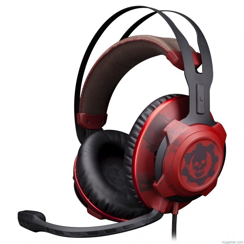The HyperX CloudX Revolver Gears of War Headset Looks... Bloody The HyperX CloudX Revolver Gears of War Headset Looks… Bloody HyperX Cloud Rev Gears of War 790x790