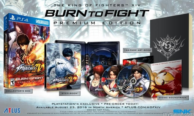 KOFXIV Limited edition THE KING OF FIGHTERS XIV Demo Hits on July 19 And Comes With Free PS4 Theme THE KING OF FIGHTERS XIV Demo Hits on July 19 And Comes With Free PS4 Theme KOFXIV Limited edition