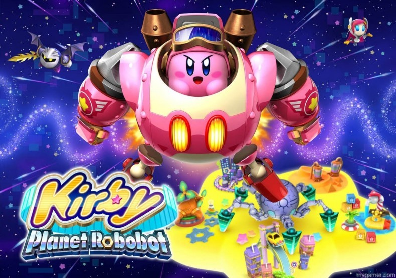 Kirby: Planet Robobot 3DS Review Kirby: Planet Robobot 3DS Review Kirby Planet Robobot illu 790x556