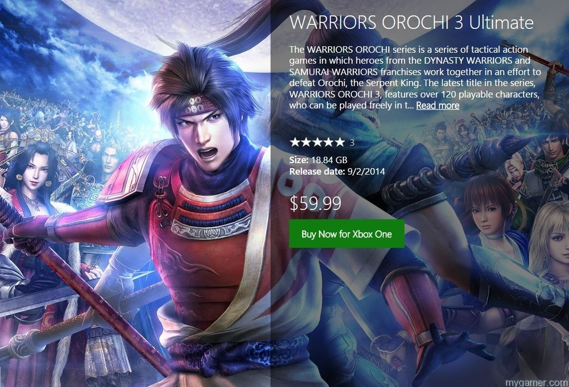 Orochi-3 Here Are the Free Games For Xbox Live Gold Members for August 2016 Here Are the Free Games For Xbox Live Gold Members for August 2016 Orochi 3