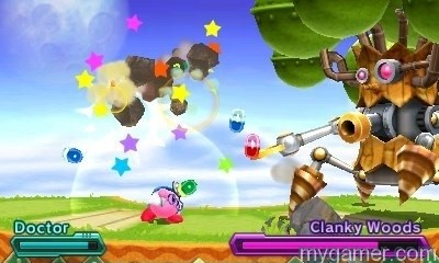 Even Wispy Woods transforms Kirby: Planet Robobot 3DS Review Kirby: Planet Robobot 3DS Review kirbyy Planet Robo Woods