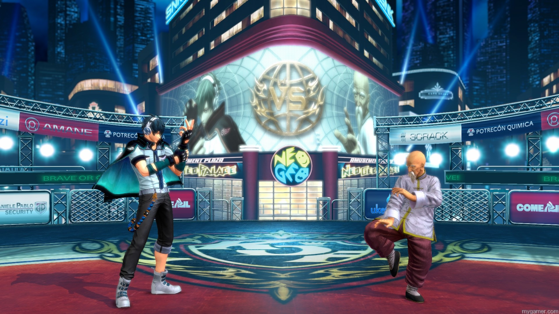 KOF-XIV-Shot--(3) King of Fighters XIV PS4 Review King of Fighters XIV PS4 Review KOF XIV Shot 3