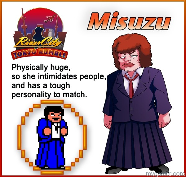 Misuzu Learn About River City: Tokyo Rumble's Cast Here Learn About River City: Tokyo Rumble's Cast Here Misuzu