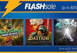 PSN Flash Sale Live Now through 8-22 PSN Flash Sale Live Now through 8-22 PSN Flash Sale 8 22 16 263x180