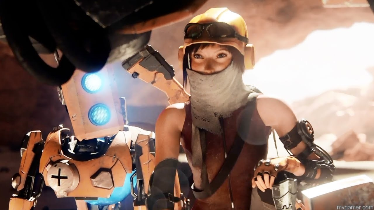 ReCore Joule   ReCore Preview RecoreGameplay