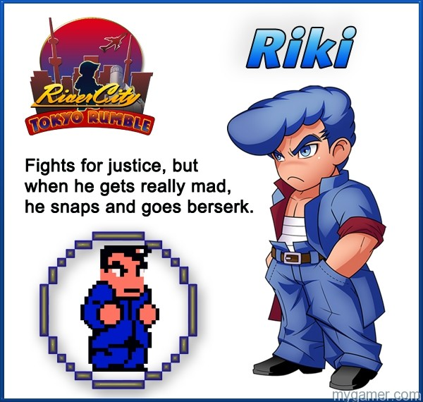 Riki Learn About River City: Tokyo Rumble's Cast Here Learn About River City: Tokyo Rumble's Cast Here Riki