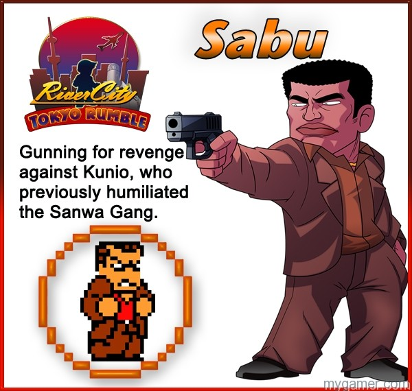 Sabu Learn About River City: Tokyo Rumble's Cast Here Learn About River City: Tokyo Rumble's Cast Here Sabu
