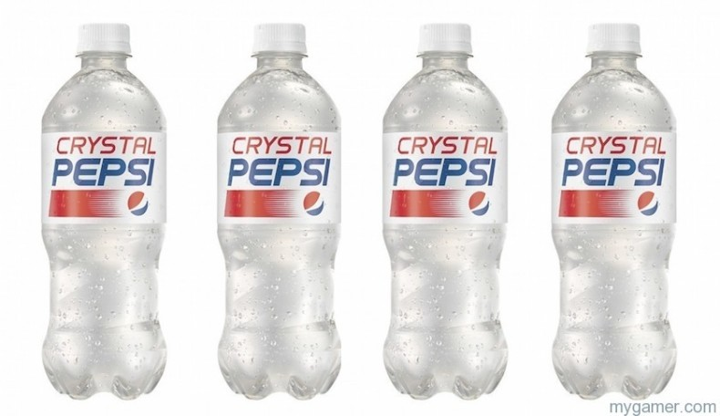 Gamer's Gullet – Crystal Pepsi 2016 Review Gamer's Gullet – Crystal Pepsi 2016 Review crystal pepsi 790x456