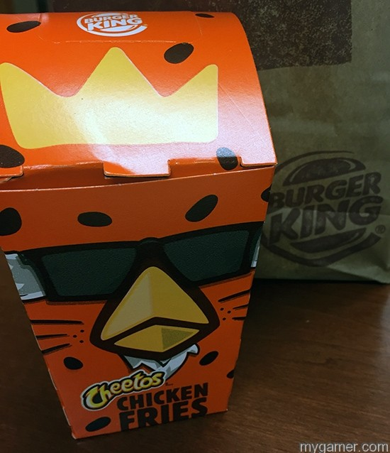 The box design is the best part gamer's gullet – burger king cheetos chicken fries review Gamer's Gullet – Burger King Cheetos Chicken Fries Review BK Cheetos Fries Box1