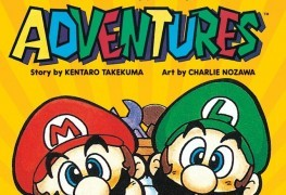 VIZ Media Is Reviving Super Mario Adventure Graphic Novel VIZ Media Is Reviving Super Mario Adventure Graphic Novel Super Mario Adventures graphic novel cover 263x180