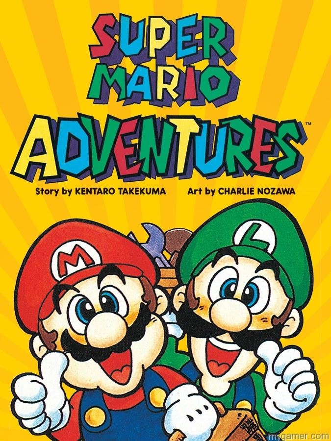 VIZ Media Is Reviving Super Mario Adventure Graphic Novel VIZ Media Is Reviving Super Mario Adventure Graphic Novel Super Mario Adventures graphic novel cover