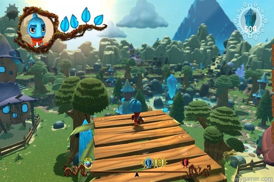 This screenshot actually makes the game look good... but it is not. At all.  Ginger: Beyond the Crystal Xbox One Review Ginger: Beyond the Crystal Xbox One Review Ginger Beyond Crystal land