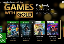 Here are the Free Xbox Games for November 2016 Here are the Free Xbox Games for November 2016 XBox Games Gold NOv 2016 263x180