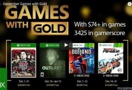 Xbox Live's Games With Gold Dec 2016 Announced Xbox Live's Games With Gold Dec 2016 Announced Games With Gold Dec 2016 263x180