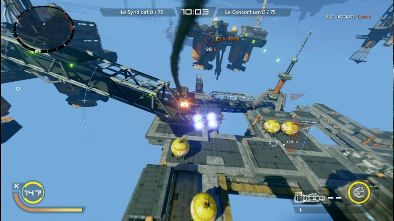 Strike Vector EX PS4 Review Strike Vector EX PS4 Review Strike Vector Gameplay 1 790x443