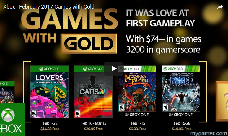 These are the Four Free Xbox Games for February 2017 These are the Four Free Xbox Games for February 2017 Xbox Games With Gold Feb 2017