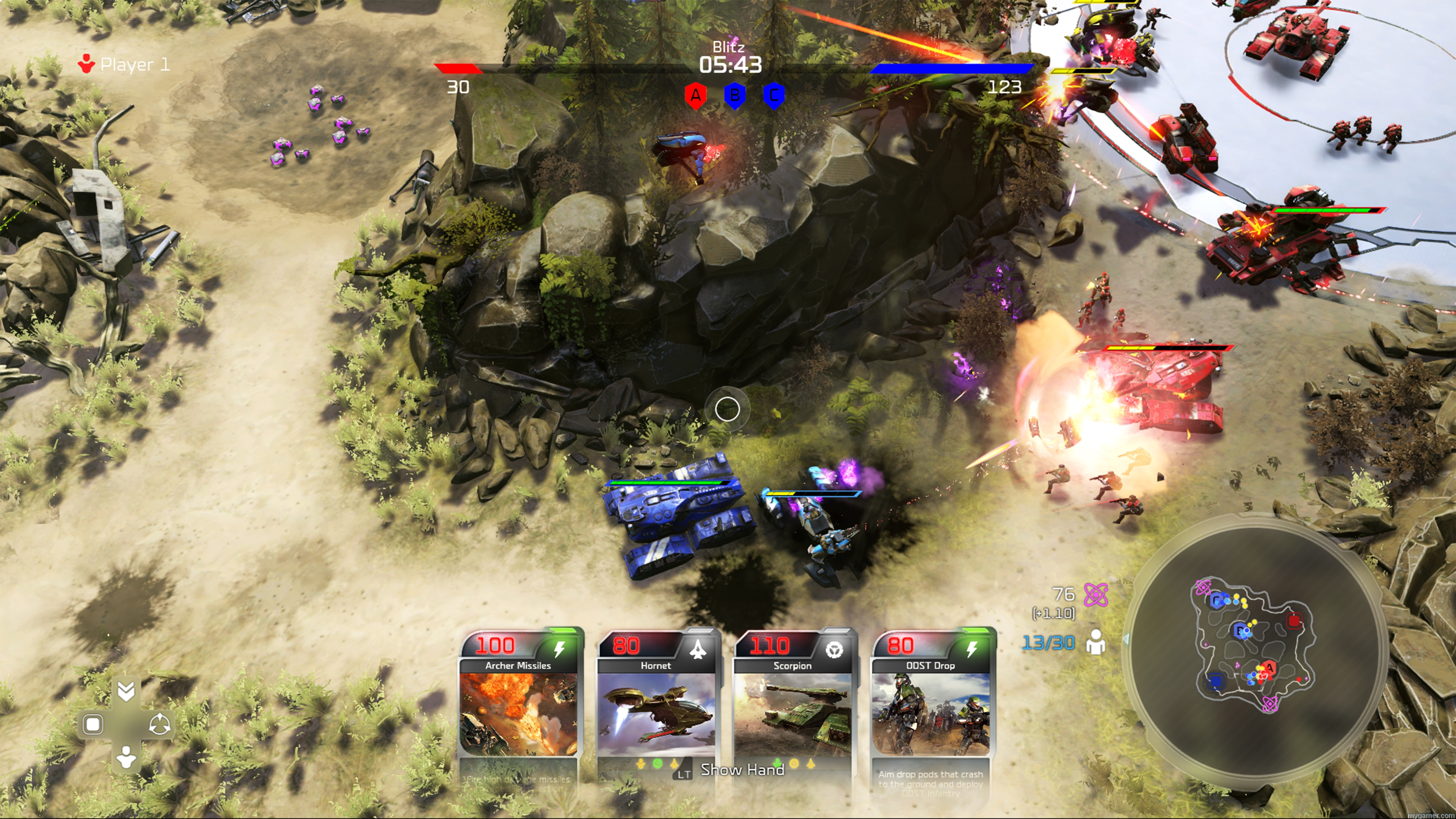 halo wars 2 features a new game mode called blitz Halo Wars 2 Preview Halo Wars 2 Preview hw2 blitz multiplayerpvp 01 100688286 orig