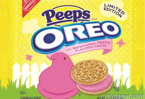 Gamer's Gullet – Oreo with Marshmallow Peeps Flavored Crème, Limited Edition Gamer's Gullet – Oreo with Marshmallow Peeps Flavored Crème, Limited Edition Review Oreo Peeps official