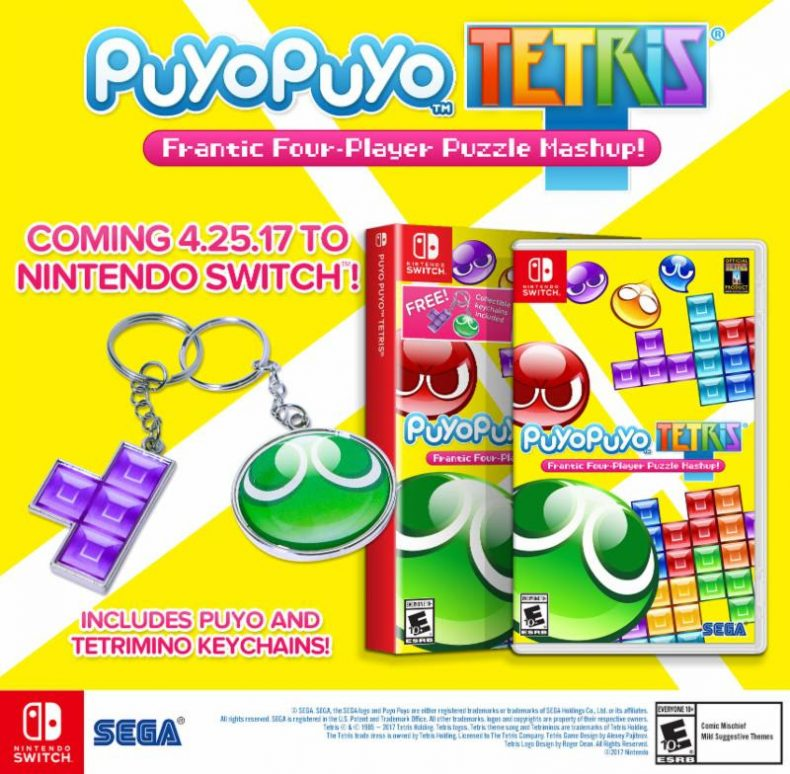 Puyo Puyo Tetris Arriving in Late April on PS4 and Switch Puyo Puyo Tetris Arriving in Late April on PS4 and Switch Puyo Puyo Tetris banner 790x774